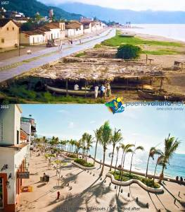 Puerto Vallarta Then and now Photo credit puertovallarta.net