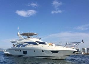 62 ft Azimut yacht (4) puerto vallarta yacht charters