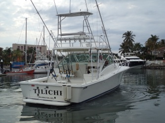 Puerto Vallarta fishing charter luxury 36 ft luhrs yacht